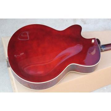 Custom Shop LP Red Wine Fhole Electric Guitar