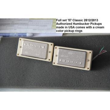 Custom LP Dave Grohl Pelham Blue DG335 Electric Guitar Authorized Bigsby