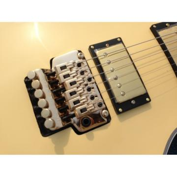 Custom Shop LP Cream Floyd Vibrato Electric Guitar