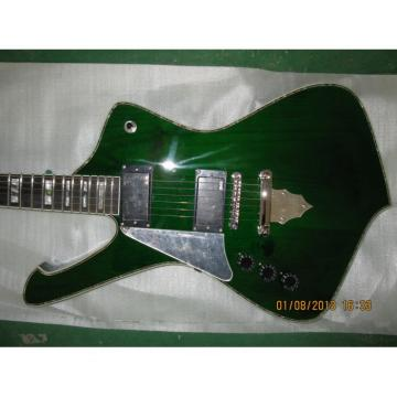 Custom Shop Left Iceman Ibanez Green Electric Guitar