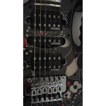 Custom Shop Left Handed Ibanez Jem7v Flower Electric Guitar