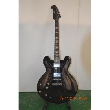 Custom Shop Left Handed Dave Grohl DG 335 Pelham Black Electric Guitar