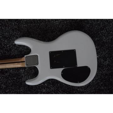 Custom Shop JS2400 Joe Satriani White Double Roll Electric Guitar