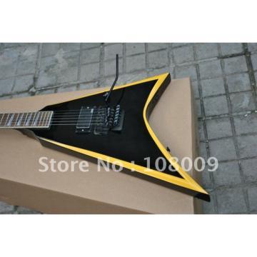Custom Shop Jackson KE2 Yellow Electric Guitar