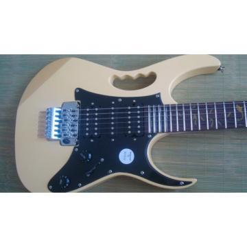 Custom Shop Ibanez Jem 7 Vai Cream Electric Guitar
