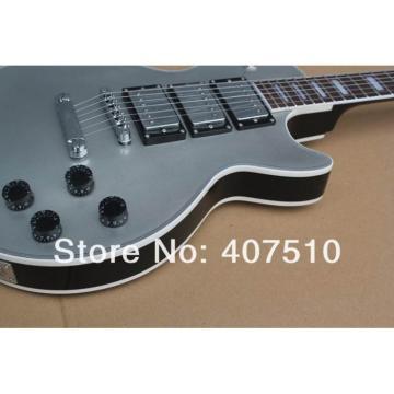 Custom Shop Gray Silver Burst 3 Pickups OEM Electric Guitar