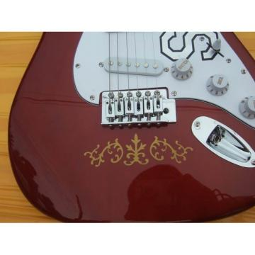 Custom Shop Fender Stevie Ray Vaughan SRV Red Wine Electric guitar