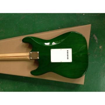 Custom Shop Fender Green Strat Electric Guitar