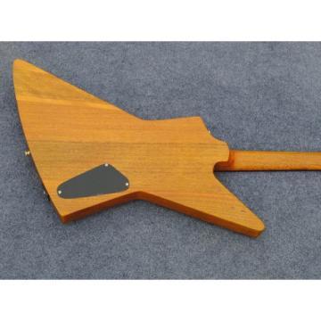 Custom Shop Explorer Electric Natural Left Handed Guitar