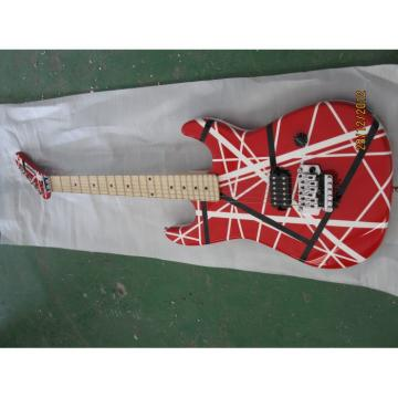 Custom Shop EVH Kramer Red Red White Stripe Electric Guitar