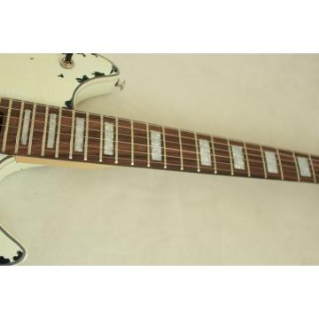 Custom Shop EVH Peavey Electric Guitar Relic Vintage White