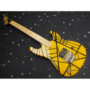 Custom Shop EVH 5150 Yellow Electric Guitar