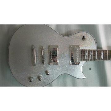 Custom Shop ESP Silver Dust Sparkle Electric Guitar