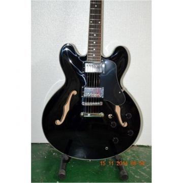 Custom Shop ES335 Curly Black LP Electric Guitar