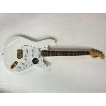 Custom Shop Eric Johnson White Fender Stratocaster Electric Guitar