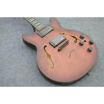 Custom Shop ES 339 Fhole Natural Brown Electric Guitar