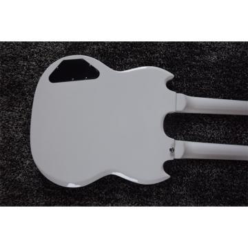 Custom Shop Don Felder EDS 1275 SG Double Neck Arctic White Electric Guitar