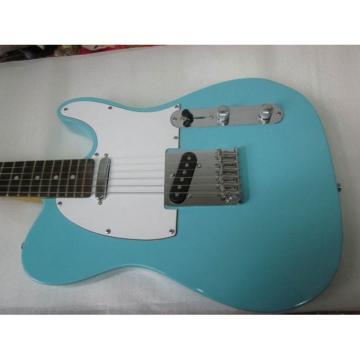 Custom Shop Daphne Blue Telecaster Electric Guitar