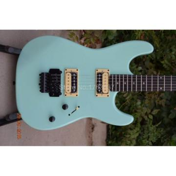 Custom Shop Charvel Dimas Sea Foam Blue Electric Guitar