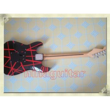 Custom Shop Charvel Black Red Electric Guitar