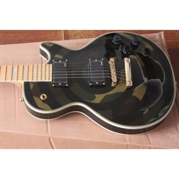 Custom Shop Camo LP Electric Guitar