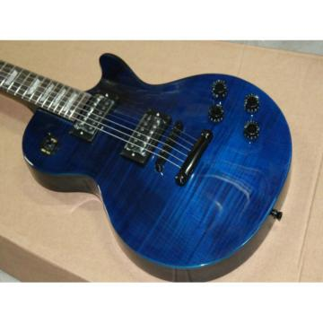 Custom Shop Blue LP Electric Guitar