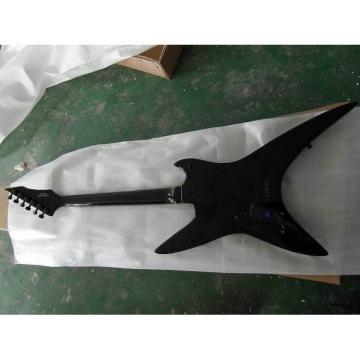 Custom Shop Black Flying V Bat ESP Electric Guitar