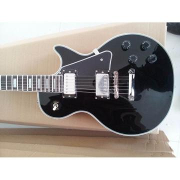 Custom Shop Black Beauty Chrome Hardware Electric Guitar