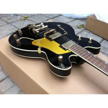 Custom Shop Black Brian Gretsch Falcon Nashville Electric Guitar