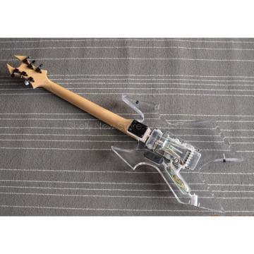 Custom Shop Avenge BC Rich Acrylic 6 String Electric Guitar