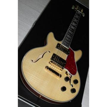 Custom Shop Arctic Natural ES335 LP Electric Guitar