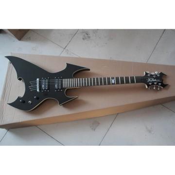 Custom Shop Avenge Black BC Rich Electric Guitar