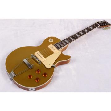 Custom Shop 1952 LP Gold Top Electric Guitar Trapeze Tailpiece