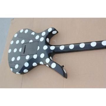 Custom Schecter Polka Dots Electric Guitar