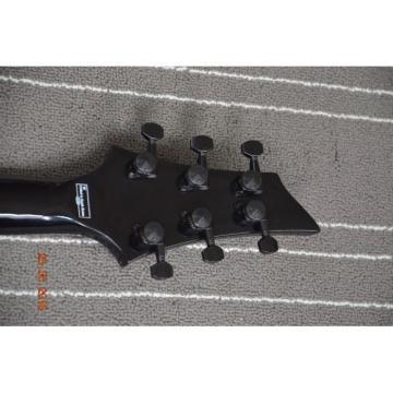 Custom Schecter Diamond MK6 White Electric Guitar 5 Ply Bindings