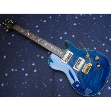 Custom PRS Santana Pelham Blue Electric Guitar