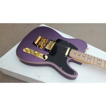 Custom Purple Fender Telecaster Floyd Rose Tremolo Electric Guitar