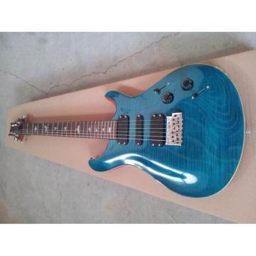 Custom PRS Tiger Maple Top Blue Burst Electric Guitar