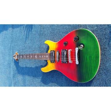 Custom PRS Paul Reed Smith Al Di Meola Prism Red Green Electric Guitar