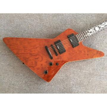 Custom Quilted Maple Top Ken Lawrence Electric Guitar Wilkinson Parts