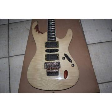 Custom Pearl Flame Maple Top Egen Herman Li Electric Guitar