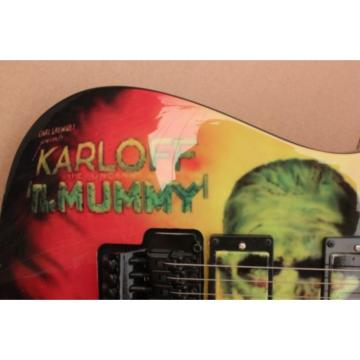 Custom Movie ESP Karloff Mummy Electric Guitar