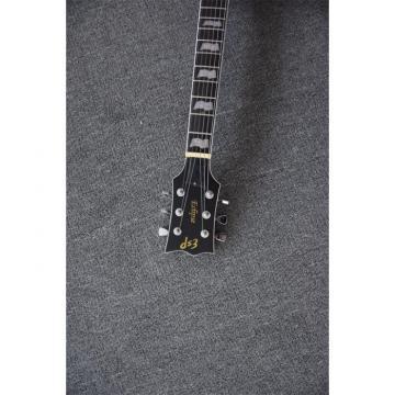 Custom LTD Deluxe ESP Eclipse Flame Maple Electric Guitar