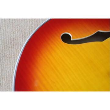 Custom guitarra ES137 Sun Burst Electric Guitar