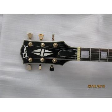 Custom guitarra ES335 Curly Natural Electric Guitar