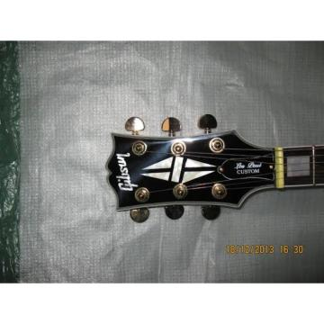 Custom Left Handed '57 guitarra Black Beauty Electric Guitar