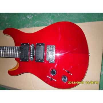 Custom Left Red Paul Reed Smith Electric Guitar
