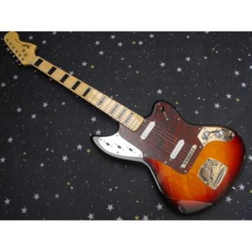 Custom Kurt Cobain Fender Jaguar Vintage Electric Guitar
