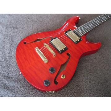 Custom Kepoon Red Patent H Electric Guitar