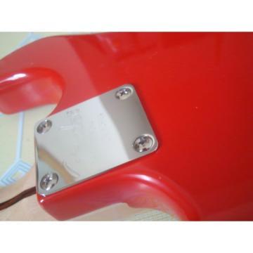 Custom Jimmie Vaughan Fender Red Electric Guitar